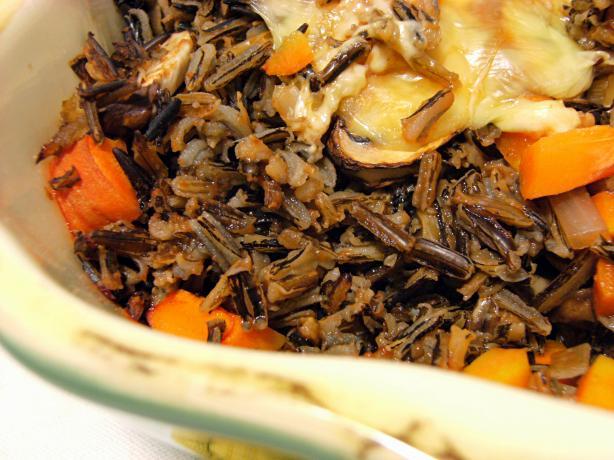 Nif's Wild Rice Casserole