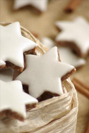 Zimtsterne (Cinnamon Star Cookies)
