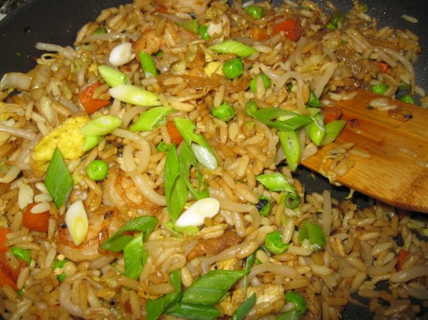 Shrimp and Egg Fried Rice With Napa Cabbage - Tyler Florence