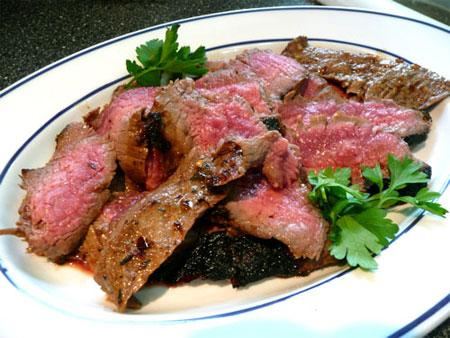 Korean Barbecued Flank Steak