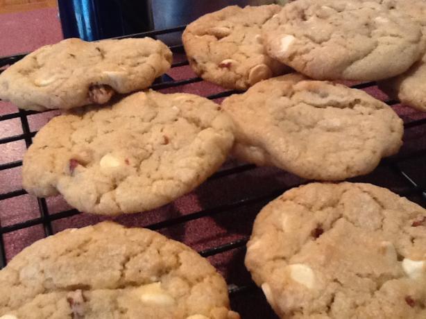 White Chocolate Chip Pecan Cookies