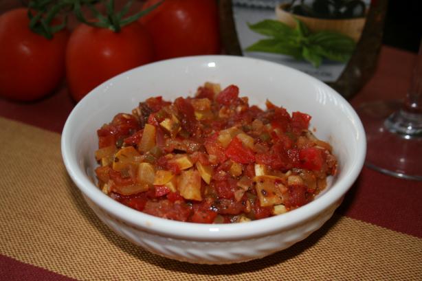 Spicy Vegetable Bruschetta