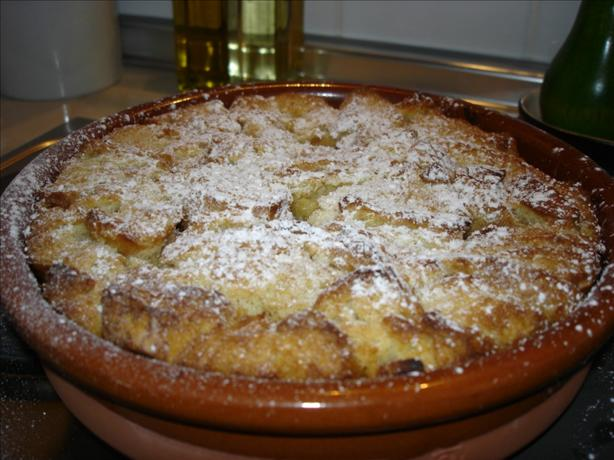 Apple - Cinnamon Bread Pudding
