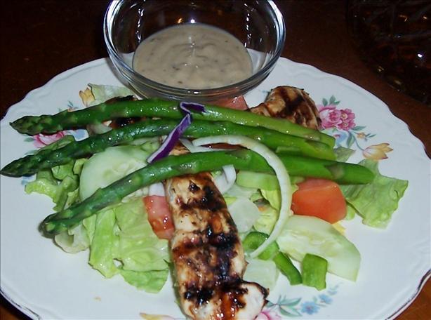 Springtime Chicken Tossed Caesar Salad