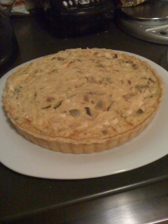 Mom's Spinach Quiche