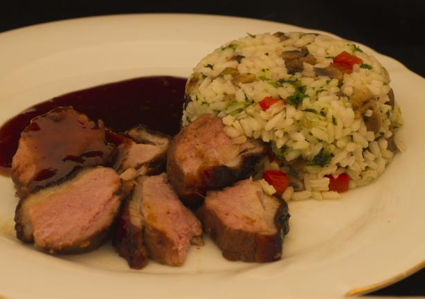 Duck Breast With Asian Sauce