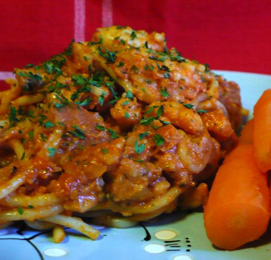 Sardinian Lobster Spaghetti