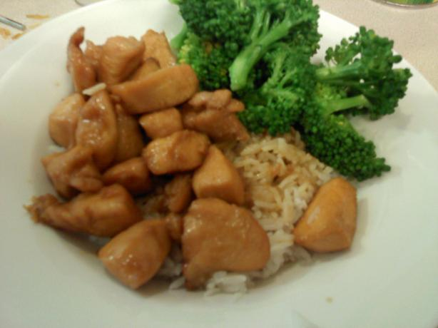 Chicken and Teriyaki Sauce