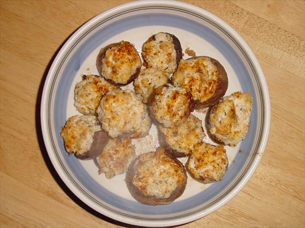 Low Carb Crab Stuffed Mushrooms