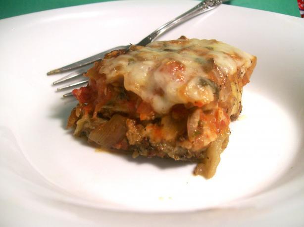 Layered Eggplant Parmesan (Vegetarian)
