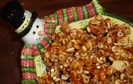 Caramel Snack Attack Mix