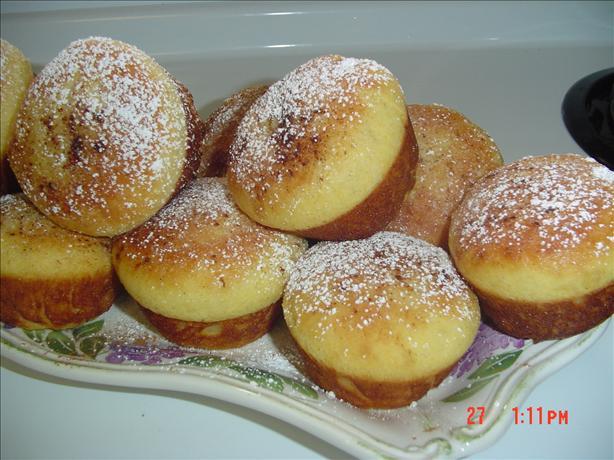 Delicious Sane Baked Sufganiot (Doughnuts) for Hanukkah