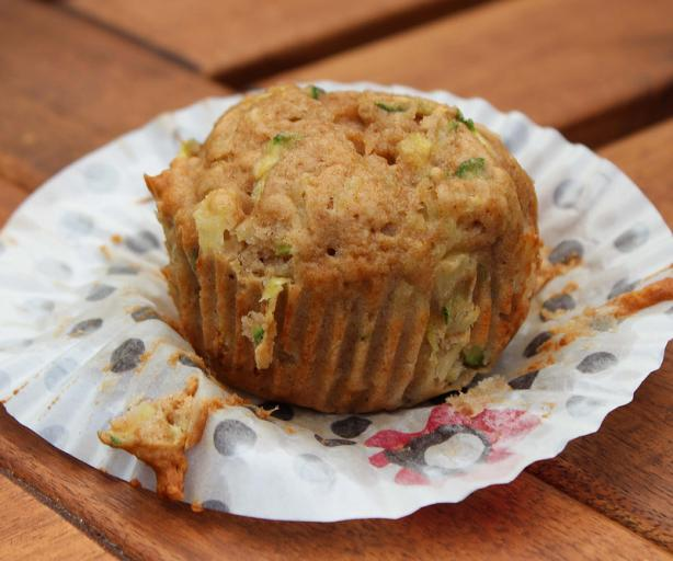 Healthy Pineapple Zucchini Muffins