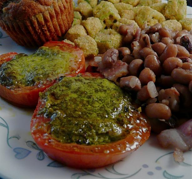 Tomatoes Roasted With Pesto