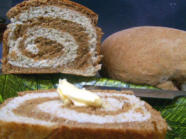 Rye Swirl Bread