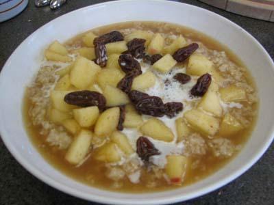 Apple Harvest Oatmeal (Vegan)
