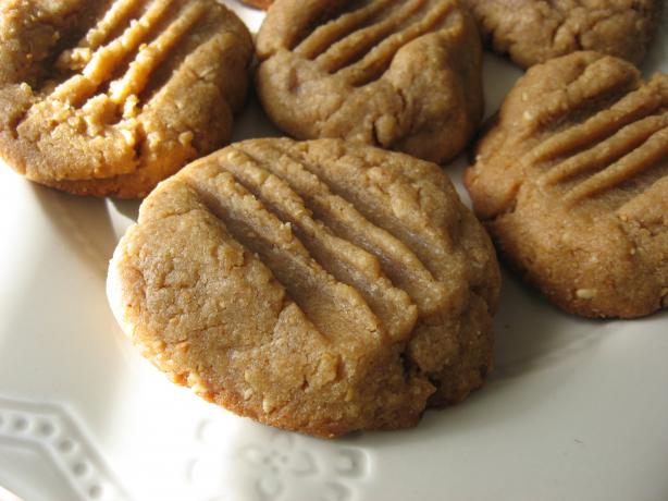 Nutty Peanut Butter & Tahini (Sesame Seed) Soft Cookies