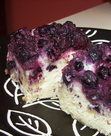 Lemon Blueberry Upside Down Cake