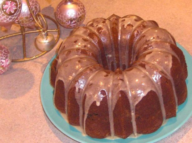 Golden Eggnog Cake