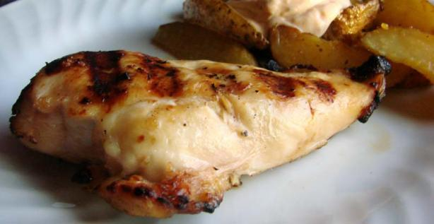 Grilled Beer Chicken