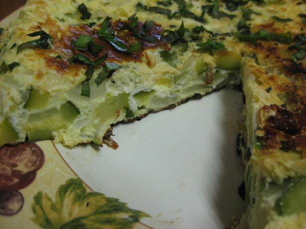 Frittata Di Zucchine (Zucchini Frittata)