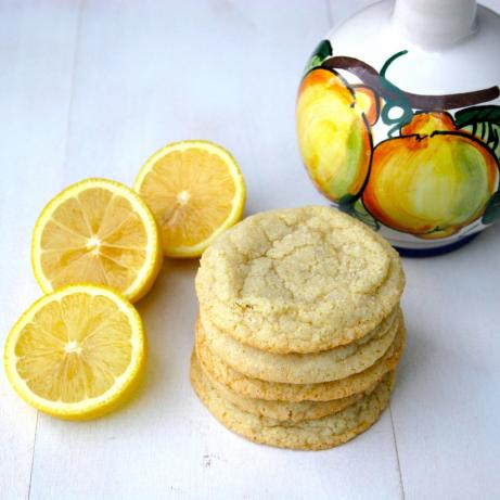 Lemony Rolled Sugar Cookies