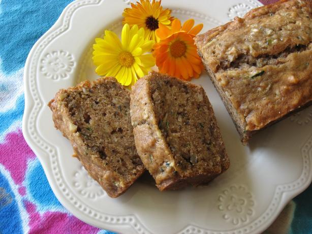 Zoobana (Zucchini Banana) Bread