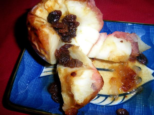 Baked Apples With Honey Syrup