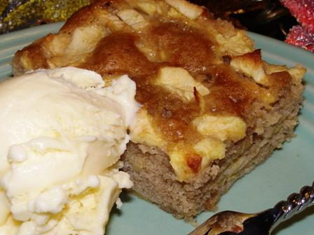Apple Snack Cake