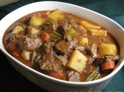 V-8 Beef Stew