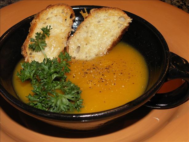 Butternut Squash Leek Soup