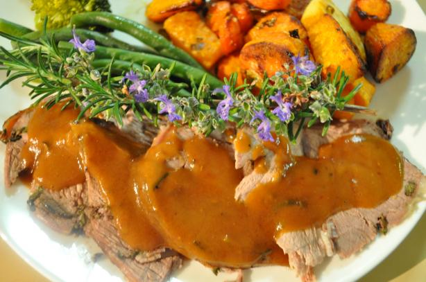 Drop Dead Gorgeous - Garlic Studded Roast Leg of Lamb