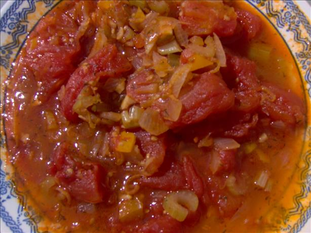 Sweetly Stewed Tomatoes