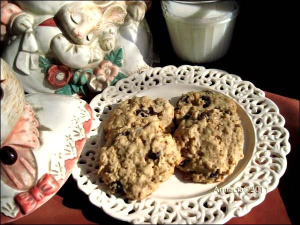 Favorite Oatmeal Raisin Cookies