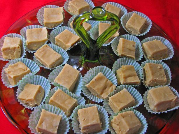 Easiest Peanut Butter Fudge, Ever!