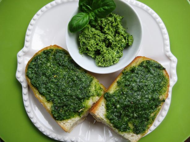 Basil Garlic Toast