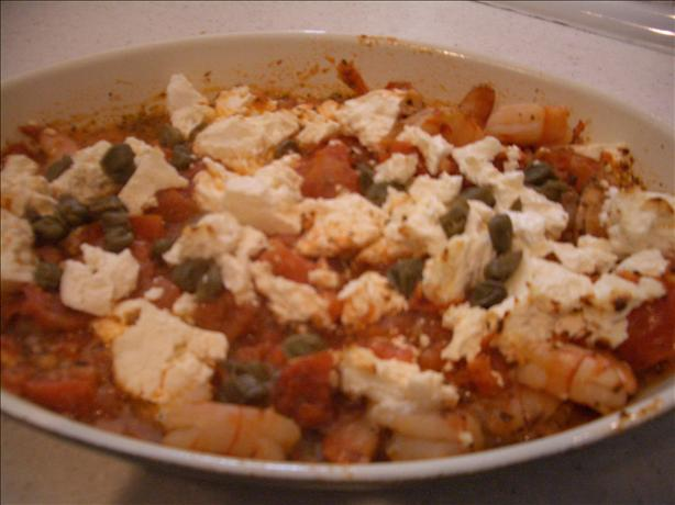 Feta and Shrimp