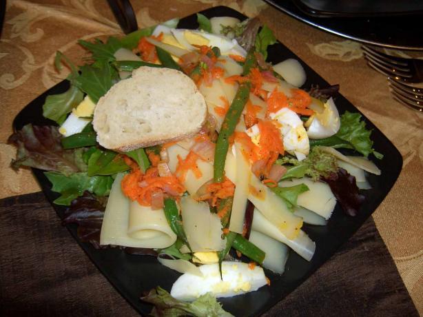 Salade Gruyère De Comtè Pour Deux