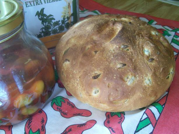 Chipotle Olive Bread
