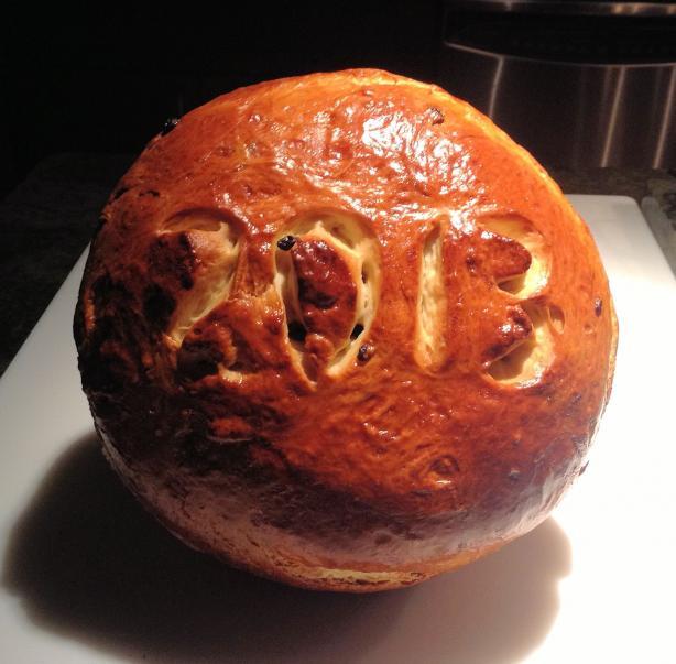 Vasilopeta (Greek New Year's Bread)