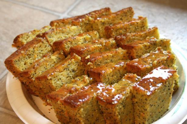 Poppy Seed Quick Bread