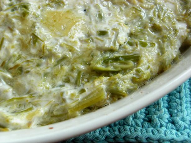 Baked Asparagus Dip