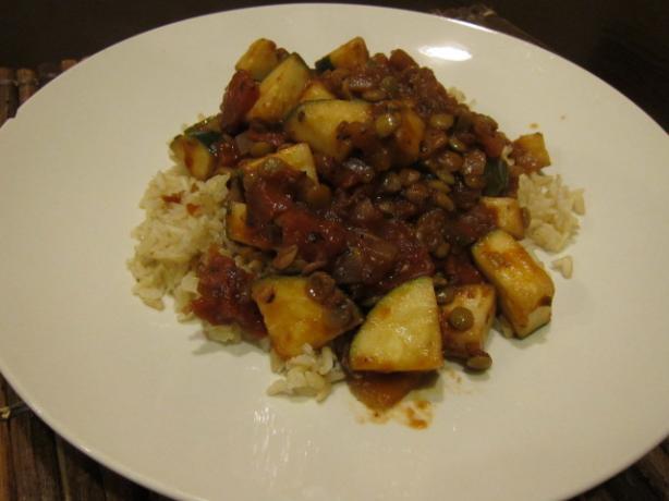 Cajun Lentil Stew