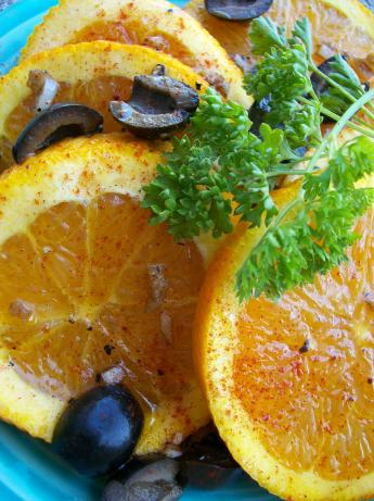 Spicy Orange Salad, Moroccan Style