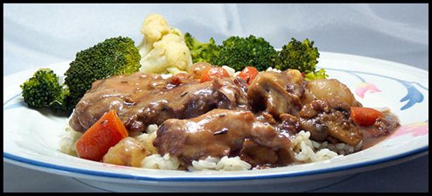 Crock Pot Coq Au Vin