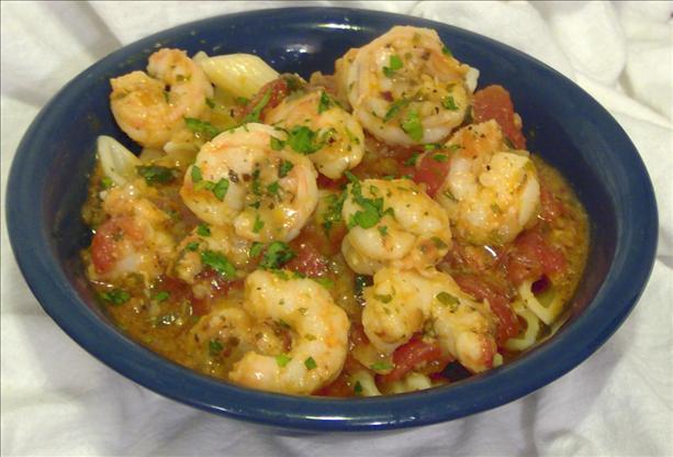 Microwave Bayou Shrimp Creole