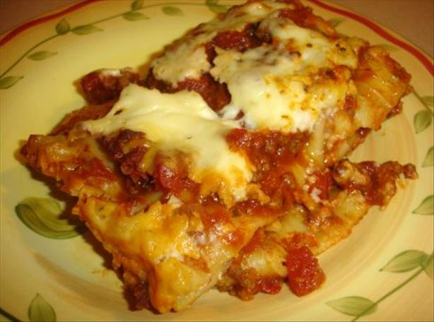 Incredible Lasagna W/ Bolognese Sauce