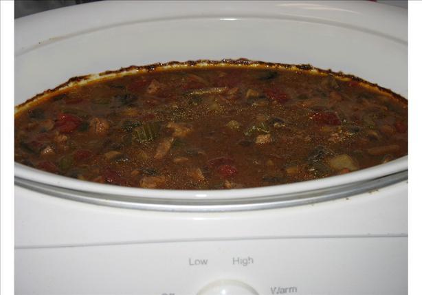 Crock Pot Beef and Mushroom Soup