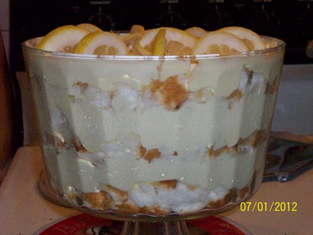Fresh Lemon and Cream Cheese Trifle