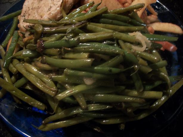 Q's Spicy Green Beans